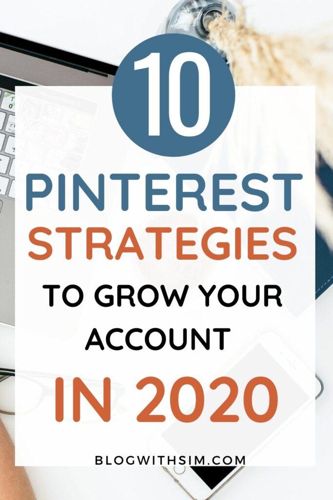 Pinterest strategies for 2020